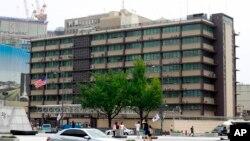 한국 서울의 주한미국대사관 건물 (자료사진)