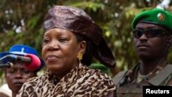 Markaziy Afrika Respublikasining muvaqqat prezidenti Katrina Samba-Panza