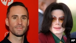 "Joseph Fiennes, a white actor, will play the late Michael Jackson, a black entertainer, in the production of ""Elizabeth, Michael and Marlon."" (AP File photos)"