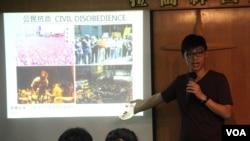 香港中學生:不認命 誓抗爭