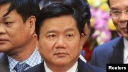 Tân Bí thư thành ủy Sài Gòn Đinh La Thăng.