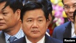 Tân Bí thư Thành ủy TP HCM Đinh La Thăng.