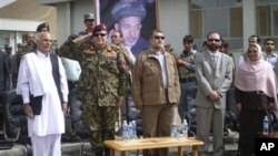 قوای امنیتی افغان در بامیان مسؤولیت های امنیتی را به دست گرفتند