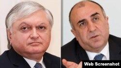 Elmar Məmmədyarov və Eduard Nalbandian