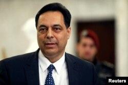 Lebanon ဝန်ကြီးချုပ် Hassan Diab