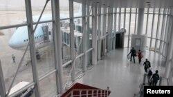 Sân bay quốc tế Incheon, Seoul, Hàn Quốc.