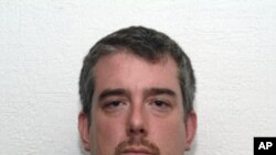 U.S. suspect Jean Baptiste Kingery is seen in this photograph released by the Mexican Attorney General's office (PGR) September 6, 2011.