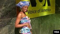 Manama Koné, styliste de mode ivoirienne à Washington DC