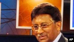 پرویز مشرف د امریکا غږ په ستډیو کې، واشنګټن ډي سي