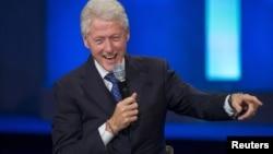 前美国总统的比尔.克林顿