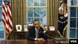 Barack Obama dijo respecto a Irán que todas las opciones están sobre la mesa.