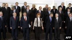 Участники конференции в Брюсселе
