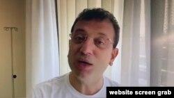 İstanbul Belediye Başkanı Ekrem İmamoğlu tedavi gördüğü hastaneden video paylaştı.
