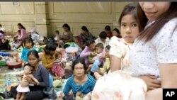 The government had set a goal of 250 deaths per 100,000 for the UN Millennium Development Goal.