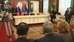ديدار روسای جمهوری روسيه و ارمنستان