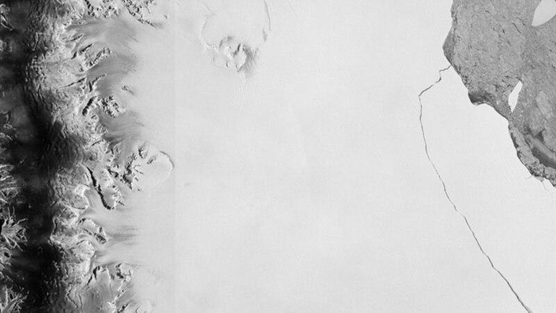 انٹارکٹیکا: گلیشیئر کا ہزاروں کلومیٹر ٹکڑا الگ ہوگیا