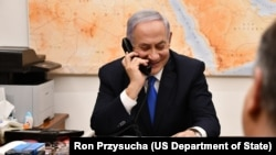 Secretary Pompeo Joins Israeli Prime Minister Netanyahu on Call With President Trump