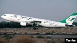 هواپیمایی ماهان یکی از شرکتهایی است که متهم به ارسال تسلیحات و نیرو شده