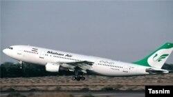 هواپیمای شرکت هواپیمایی ماهان ایر