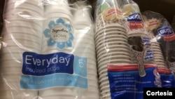 El poliestireno además se utiliza para conservar bebidas frías o calientes.