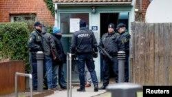 執勤中的丹麥警察