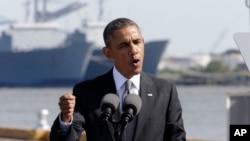 Барак Обама. Новый Орлеан. 8 ноября 2013г.