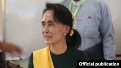 Pemimpin demokrasi Myanmar, Aung San Suu Kyi (Foto: dok).