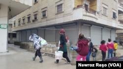 Sîvîlên Efrînê