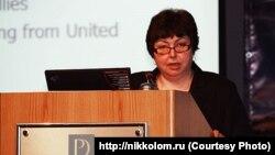 Катерина Єгорова, доктор політичних наук