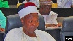 Marigayi sarkin Gwoza Alhaji Shehu Idris Timta da 'Yan Boko Haram suka kashe.