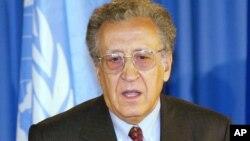 Спецпредставитель ООН и Лиги арабских государств Лахдар Брахими