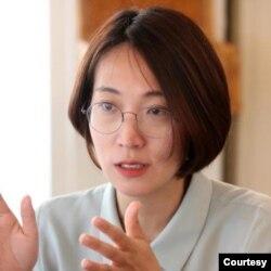 韩国正义党国会议员张惠英