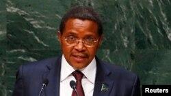 Jakaya Kikwete, le président de la Tanzanie