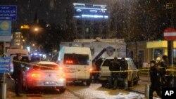 حضور نیروهای امنیتی ترکیه پس از حمله انتحاری