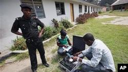尼日利亞早前選舉保安嚴密。