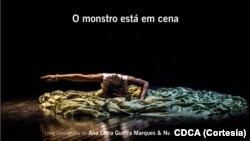 O monstro está em cena, cartaz CDCA