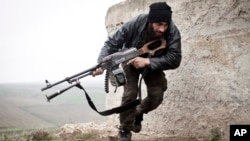 یکی از نیروهای مسلح مخالف دولت بشار اسد