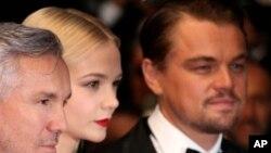 L'acteur Leonardo di Caprio (à droite). (Photo by Joel Ryan/Invision/AP)
