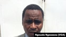 L'activiste des droits humains Armel Malela à Brazzaville, le 11 avril 2018. (VOA/Ngouela Ngoussou)