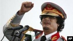 Муаммар Каддафи. Триполи, Ливия. 12 июня 2010 г.