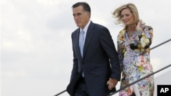 Митт и Энн Ромни. Гданьск, Польша. 30 июля 2012 г.