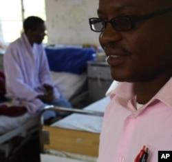 Nurse Bheki Masondo says patients come first at the hospital