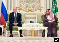Putin Səudiyyə Ərəbistanında