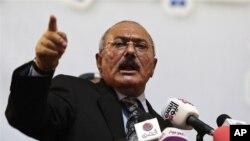 Tư liệu: Cựu Tổng Thống Yemen Ali Abdullah Saleh