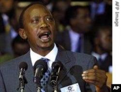 Waziri wa fedha wa Kenya Uhuru Kenyata.