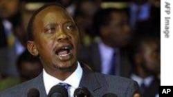 Naibu waziri mkuu wa Kenya, Uhuru Kenyatta.