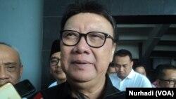 Menteri Dalam Negeri RI Tjahtjo Kumolo (Foto: VOA/Nurhadi)