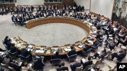 聯合國安理會會議會場(資料照片)