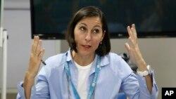 La représentante de l'Unicef, Meritxell Relano au Yémen, 17 mars 2016.