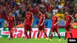 L'équipe nationale d'Espagne